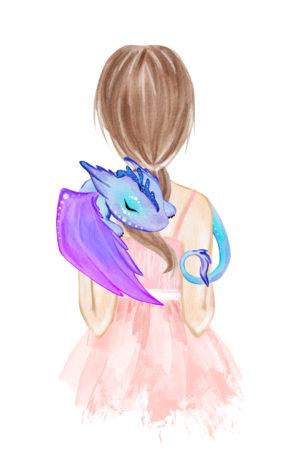 Conte thérapeutique pour enfants – La petite fée et la dragonne