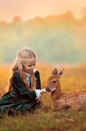Conte thérapeutique pour enfants – Lohissa la petite fille aux pouvoirs magiques
