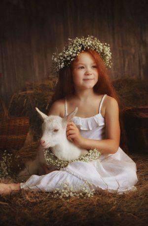 Conte thérapeutique pour enfants – Josette, la petite bergère qui transformait la poussière en or