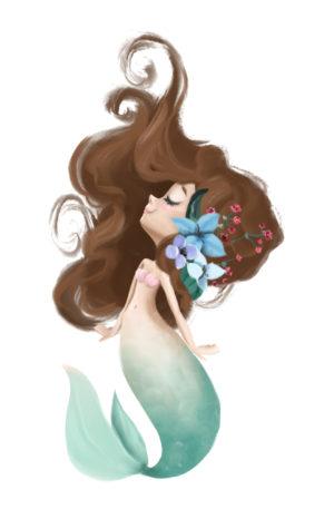 Conte thérapeutique pour enfants – Anaïka la petite fille de l'océan