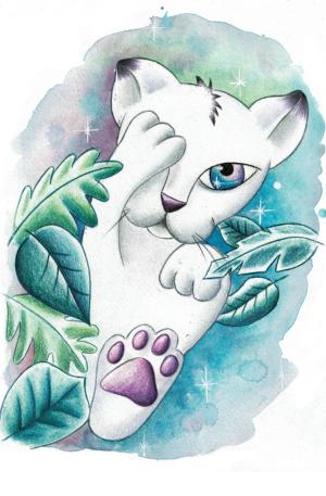 Conte thérapeutique pour enfants – Minicha la lionçonne